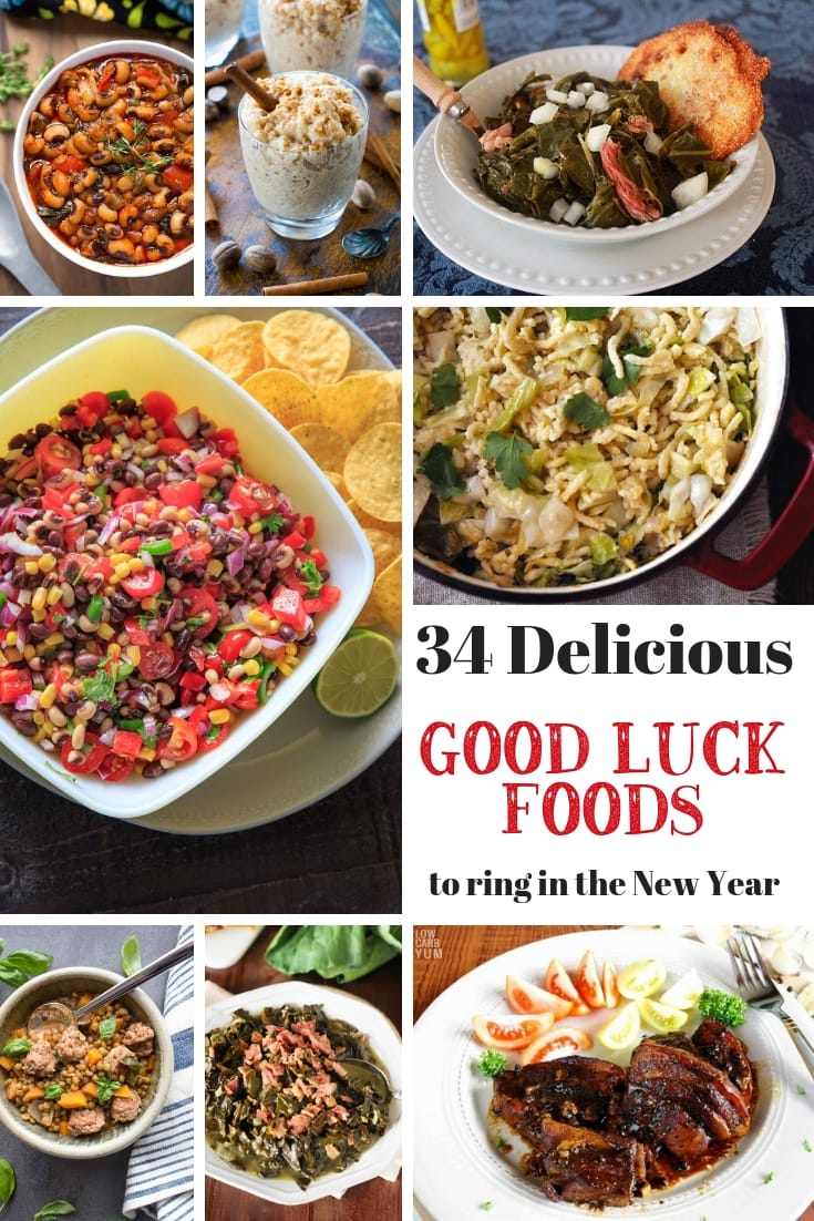 34 Delicious Recipes Featuring Foods That Bring Good Luck