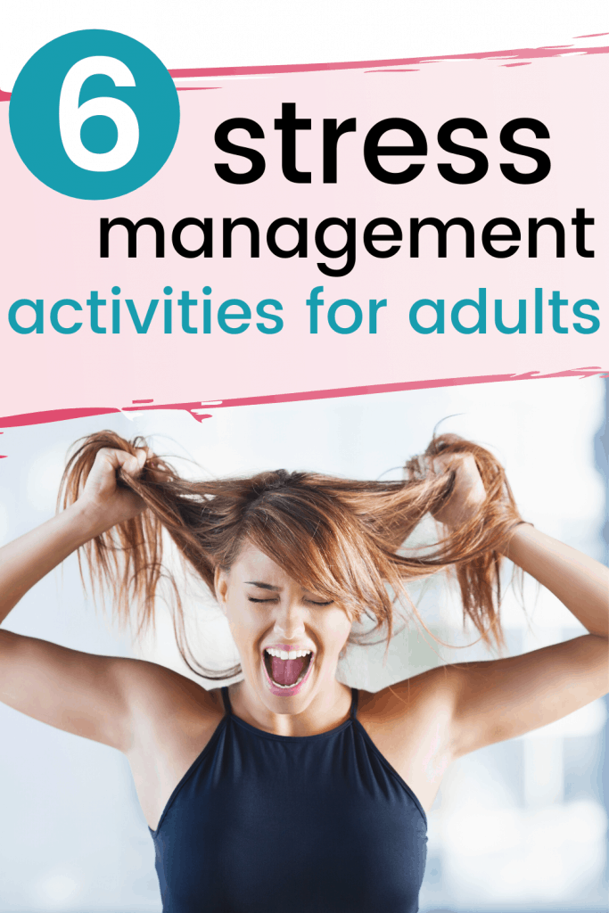 Stress Management Activities for Adults